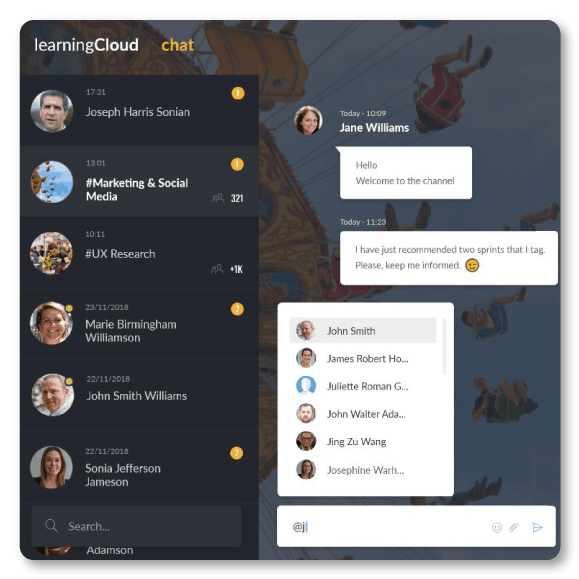 learningcloud-chat