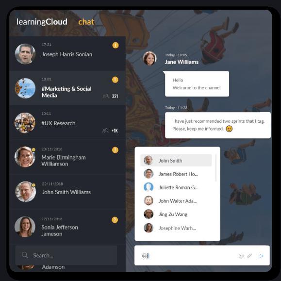 learningcloud-chat